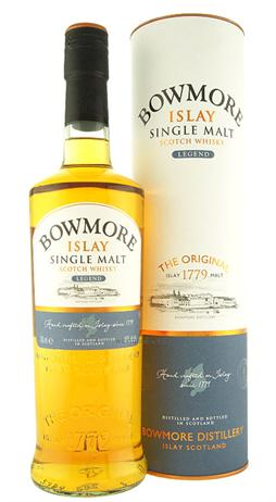 Bowmore Scotch Single Malt Legend